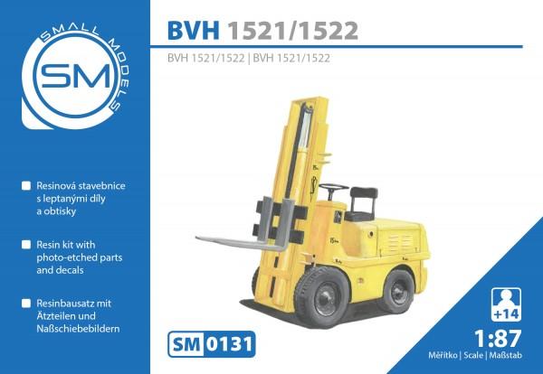 BVH 1521/1522 Gabelstapler, Bausatz