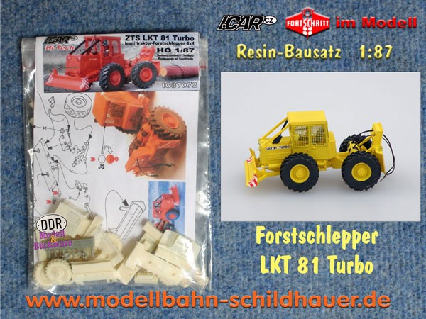 LKT-81 Forstschlepper, Bausatz