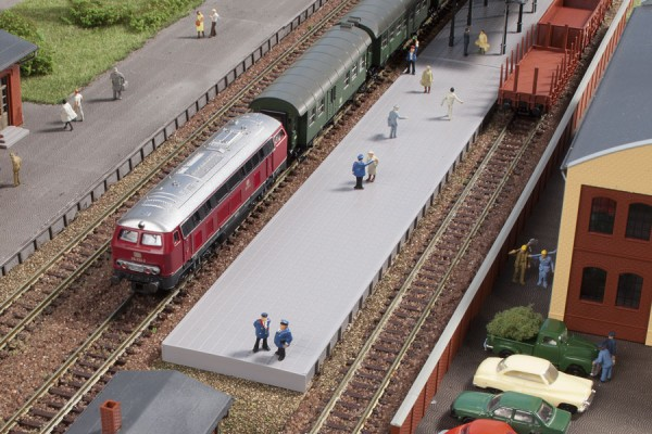 Bahnsteig ohne Überdachung (N)