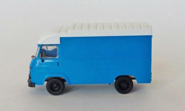 Avia Furgon Kofferaufbau blau/weiß