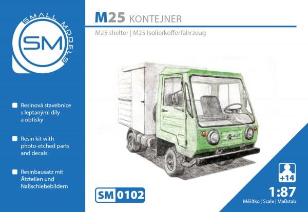 Multicar M25 Isokoffer , Bausatz