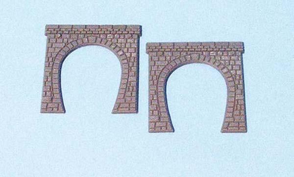 2 Tunnelportale 1-gleisig N