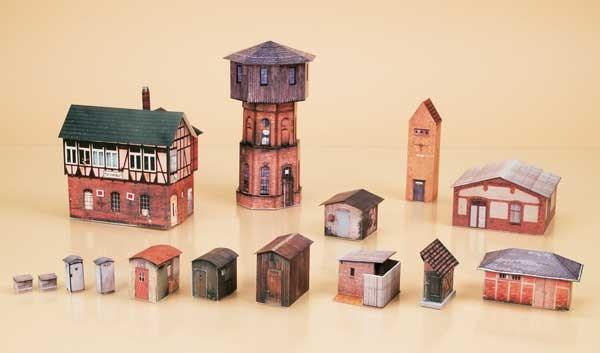 Wasserturm-Set (TT)