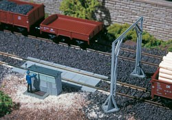 Gleiswaage mit Lademaß