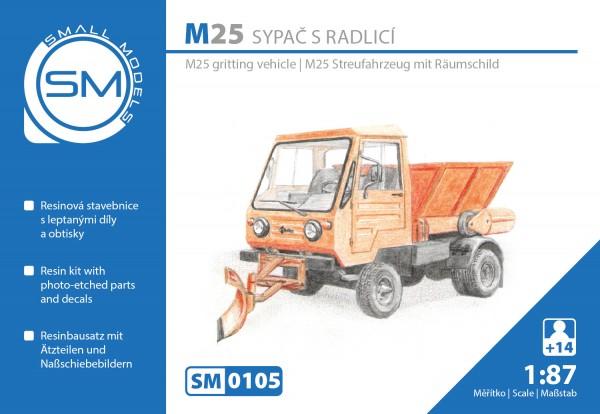Multicar M25 Streufahrzeug, Bausatz