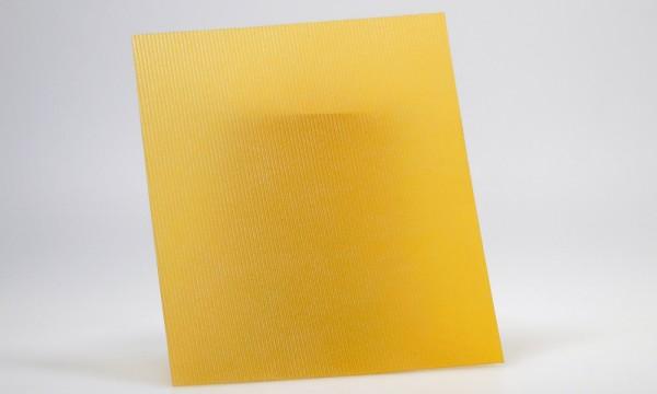 Wellpolyester-Platten 3 Stück 8,5x10 cm