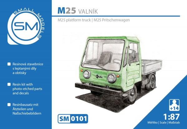 Multicar M25 Pritschenwagen , Bausatz
