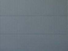 Wellblechplatte grau, 10 x 20 cm