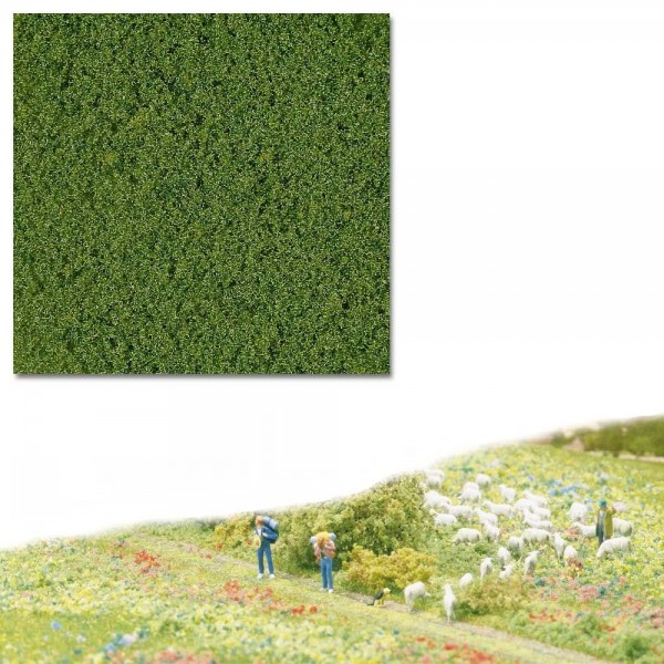 Micro-Flocken, mittelgrün