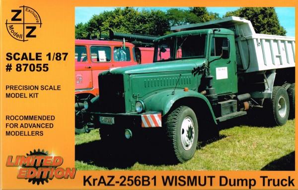 "Kraz-256 B1 Hinterkipper, ""Wismut"" - Bausatz"