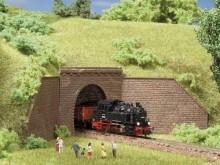 Tunnelportale, eingleisig (N)
