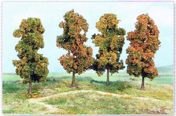 4 Herbstbaeume 18 cm