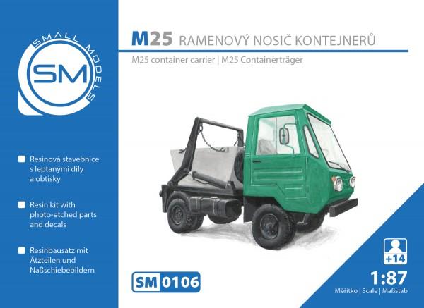Multicar M25 Absetzkipper BS
