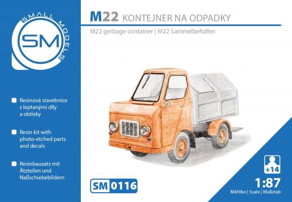 Multicar M22 Müllsammelfahrzeug, Bausatz