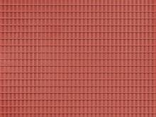 Dachpfanne, rotbraun, 10 x 20 cm