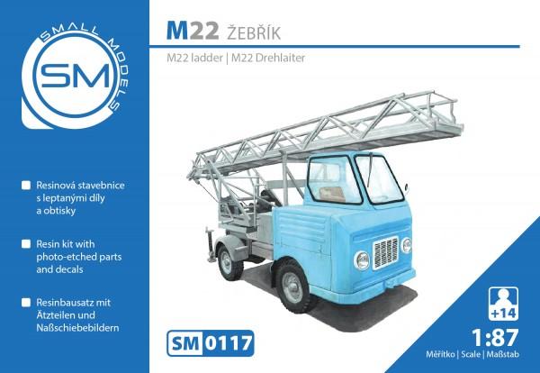 Multicar M22 Drehleiter zivil - Bausatz