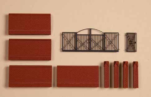 Einfriedung / Mauer für Fabrikgelände