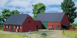 Bauernhof Klinker rot