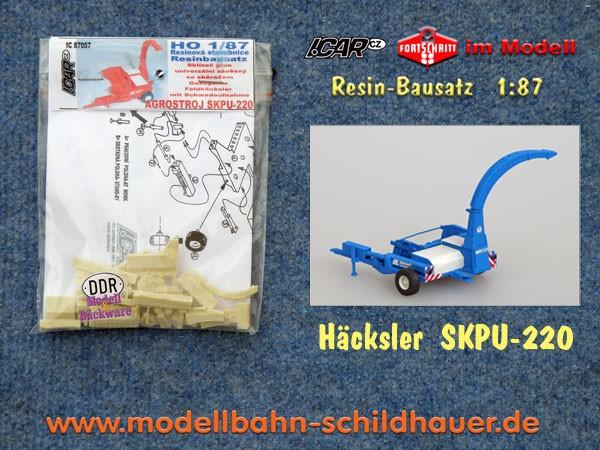 Feldhäcksler SKPU-220, Bausatz