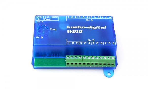 Schaltdecoder WD10 2x8 Ausgänge