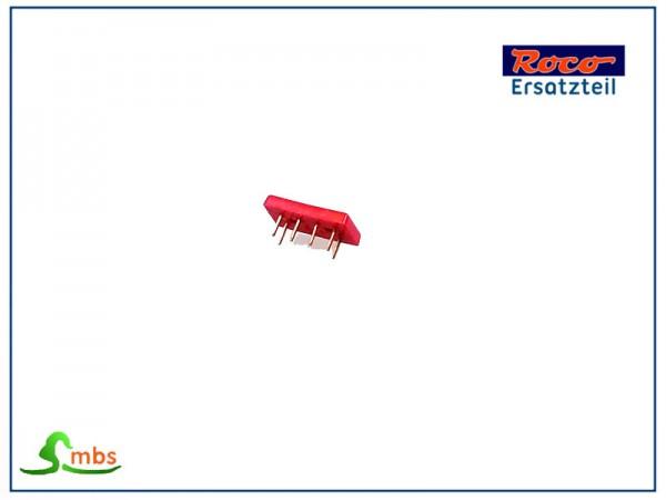 Brückenstecker NEM 652 rot