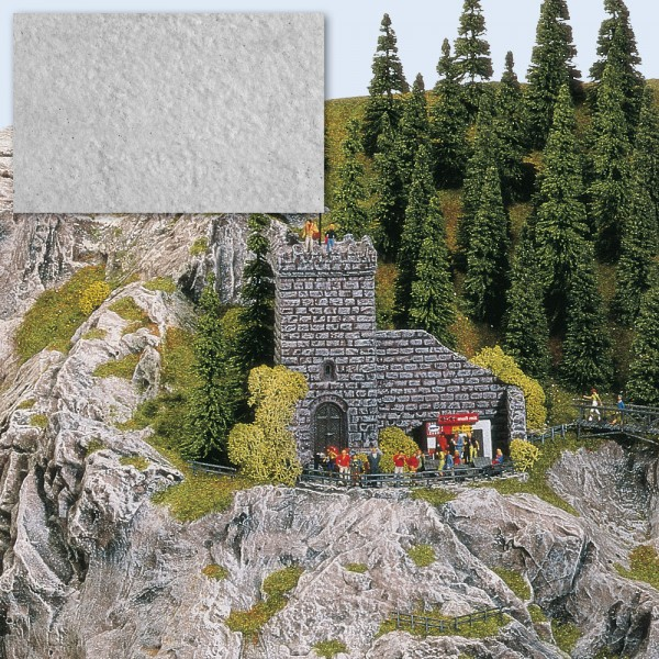 Felsen-Modelliermasse steingrau