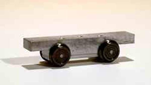 H0 Fahrwerk für Beiwagen 23,0mm