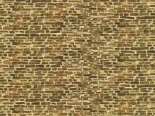 Kalksteinmauer (Dekorpappe) 22 x 10 cm