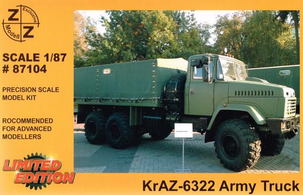 Kraz-6322 Pritsche/Plane Armee Bausatz