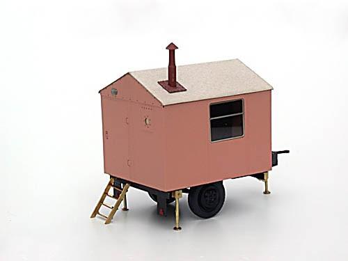 Bauwagen Spitzdach 3m - Bausatz