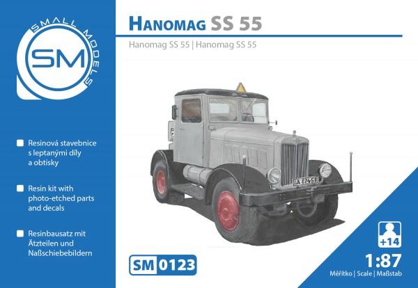 Hanomag S55 zivil , Bausatz