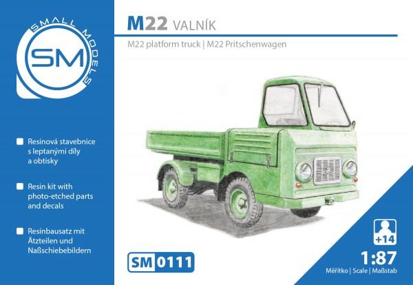Multicar M22 Pritsche, Bausatz