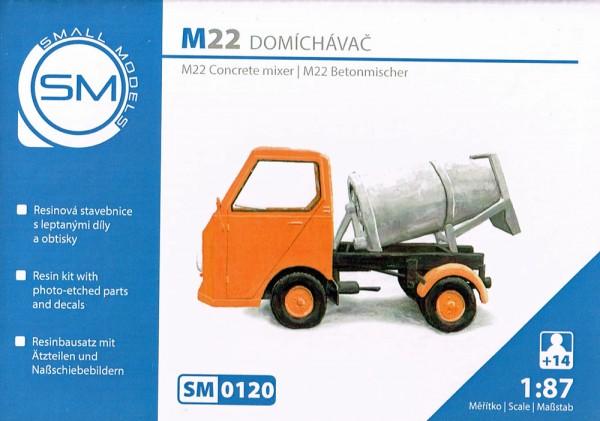 Multicar M22 Betonmischer - Bausatz