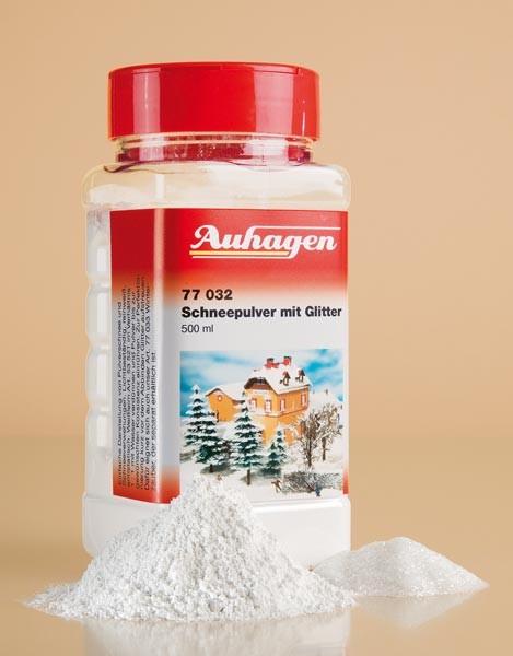 Schneepulver mit Glitter