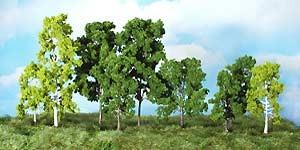 14 Laubbäume sortiert, 9-18 cm