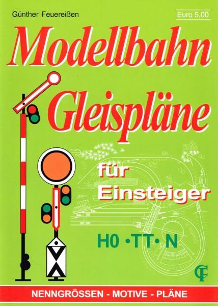 Modellbahn-Gleisplaene fuer Einsteiger HO-TT-N
