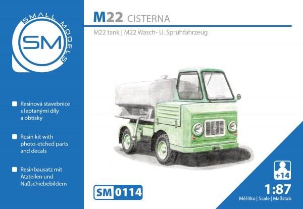 Multicar M22 Wasch-und Sprühfahrzeug, Bausatz