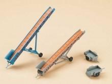 2 Förderbänder, 2 PKW-Anhänger (TT)