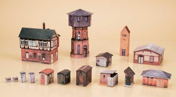 Wasserturm-Set (N)