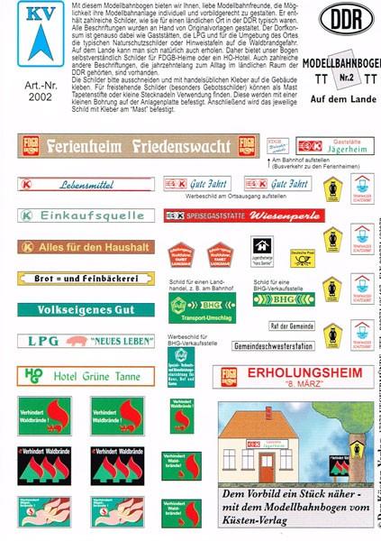 """KV-2 """"ländlicher Raum"""" DDR (TT)"""