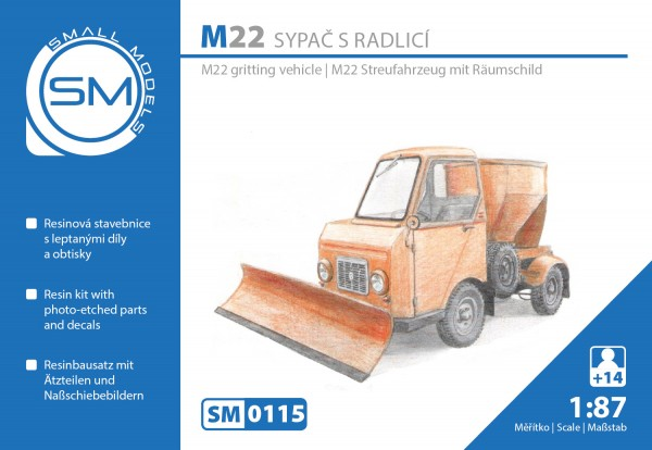 Multicar M22 Streufahrzeug , Bausatz