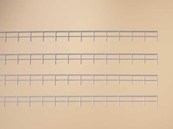 Geländer für Bahnbrücken