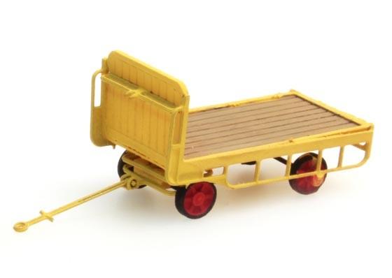 Anhänger Bahnsteigkarre gelb