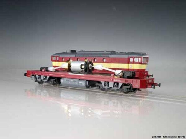 Antrieb für T478 CS-train