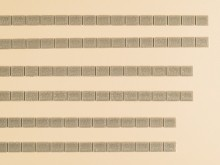 Mauerabdecksteine 288 cm