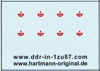 CA Emblem (Sowjet.Armee) H0 (8 Stück)