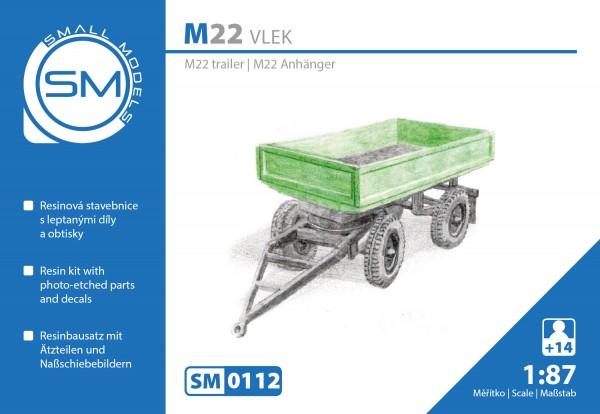 Anhänger für Multicar M22, Bausatz