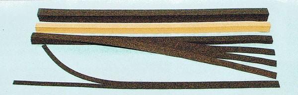 Korkgleisbettung, flexibel TT schwarz