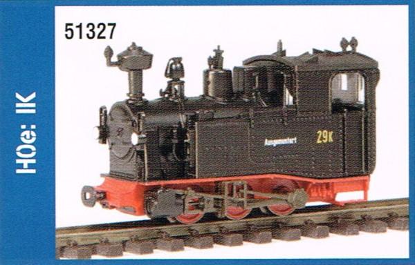 Lok IK schwarz , ohne Antrieb