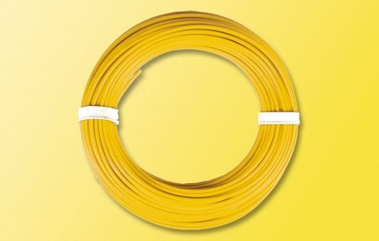 Litze 0,14² gelb 10m